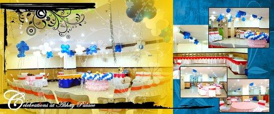 Hotel Abhay Palace: Party Set Up
