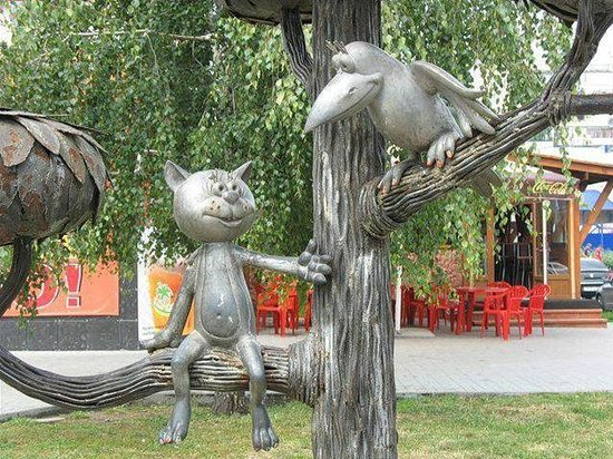 Monument to the Kitten from Lizyukov Street