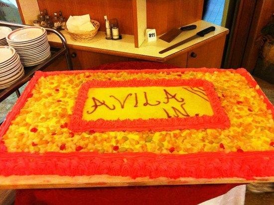 Hotel Avila In: Der Koch ist ein Meister seines Faches