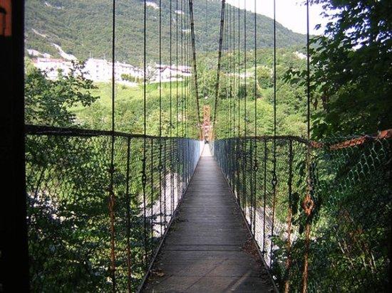 Longarone, Италия: Il ponte 2