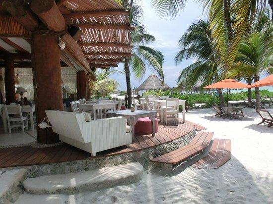 Holbox Hotel Casa las Tortugas - Petit Beach Hotel & Spa: Restaurant