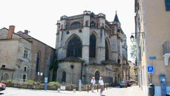 Cathédrale Saint-Étienne : Cahors Cathedral: Rear view