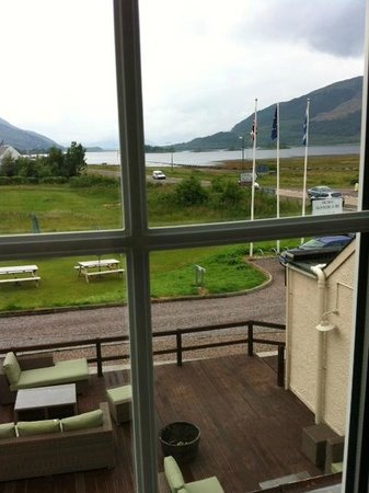 The Glencoe Inn : View up Loch Leven