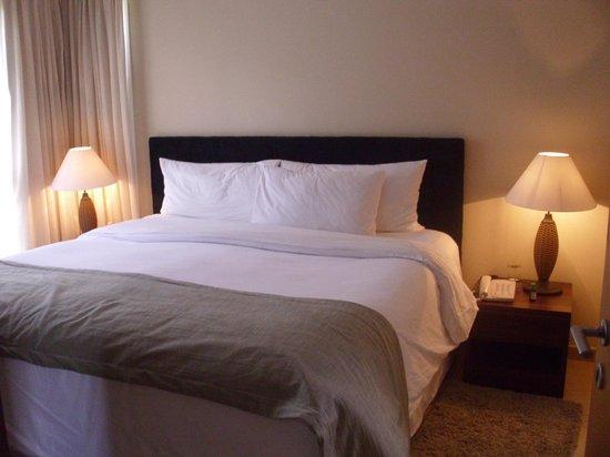 Granja Brasil Resort: O quarto, espaçoso e aconchegante