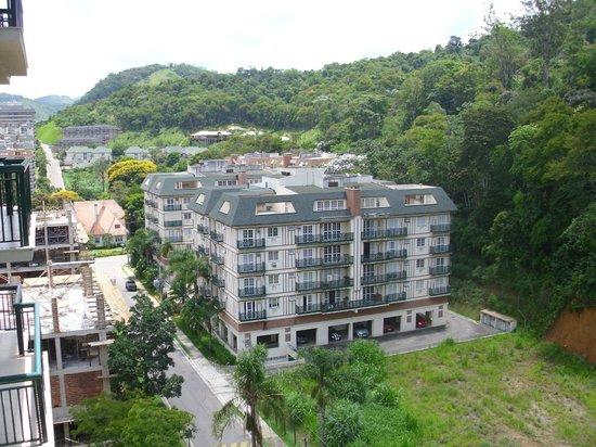 Granja Brasil Resort: Vista da varanda do quarto