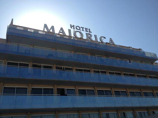 Catalonia Majorica Hotel: Vista dell'hotel dal retro
