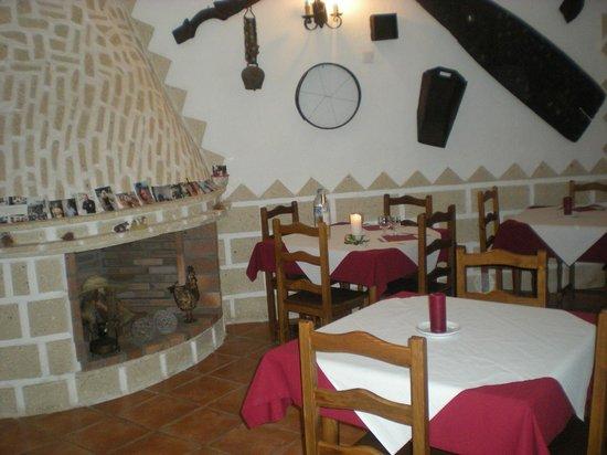 Finca La Hacienda Rural Hotel : il ristorante