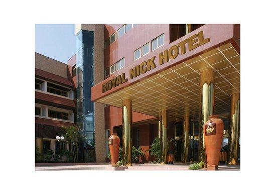 Royal Nick Hotel: Entrance