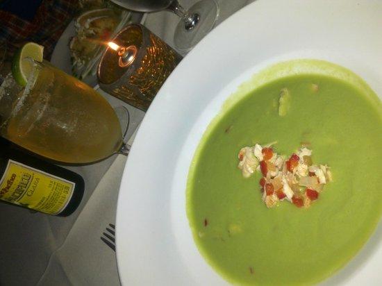 Maya : Gazpacho de guacamole