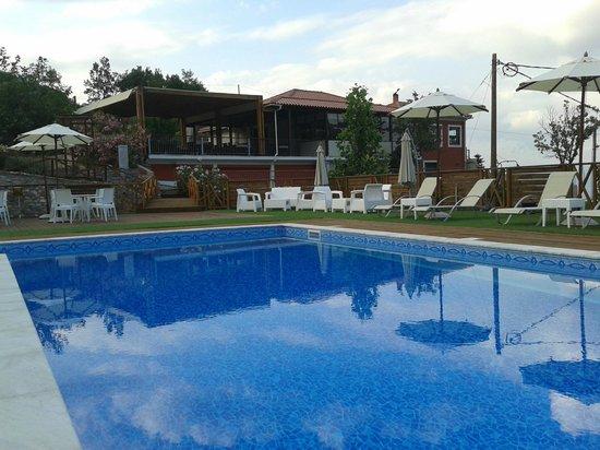 Toriza Restaurant: the pool