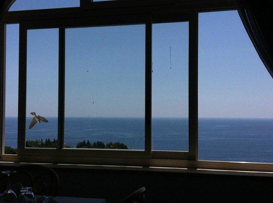 Romantica Resort & Spa: Splendida vista dal ristorante dell'Hotel