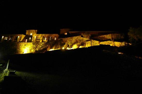 Hotel Iruya: El Hotel de noche
