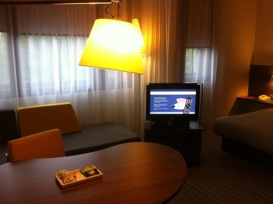 Novotel Suites Paris Roissy CDG: living area of the bedroom