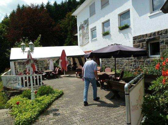 Hallenberg, Germany: ingang hotel