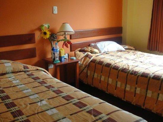 Hotel Casa de Mama Valle: habitación doble con vista al valle