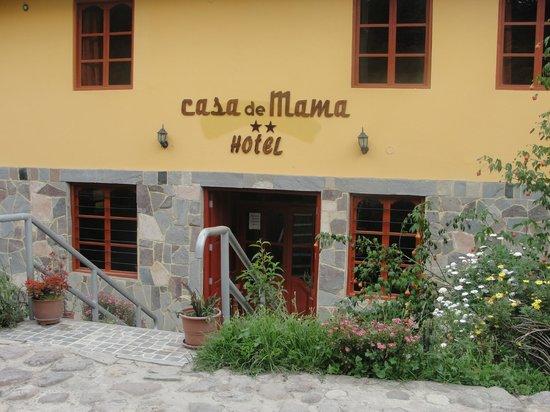 Hotel Casa de Mama Valle: entrada al hotel