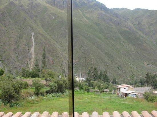 Hotel Casa de Mama Valle : con vista al valle