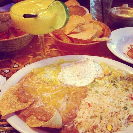Sonora Style Enchiladas And Mango Marg Picture Of Rosepepper Cantina Nashville Tripadvisor