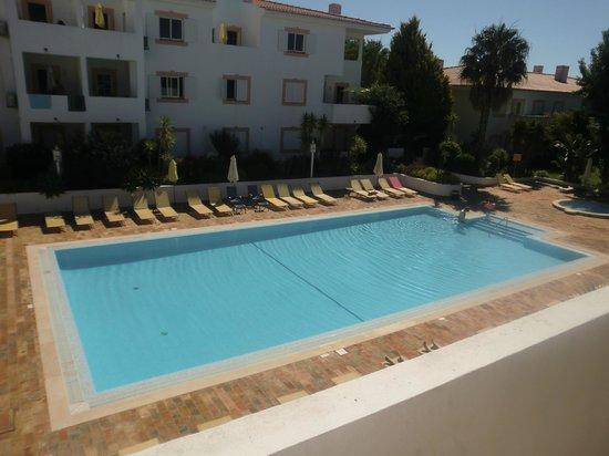 Vilabranca Apartments: Pool view