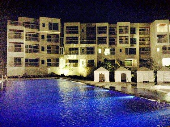 Boutique Hotel Villa De Aewol: Hotel view around the pool
