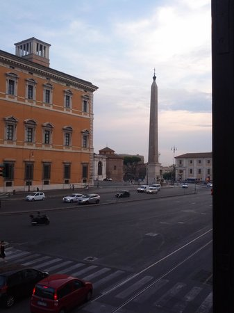 Basilica Square : view from our window