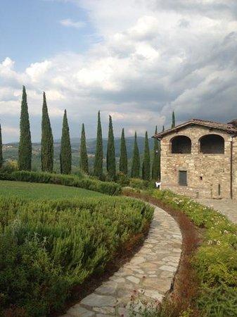 Casalta di Pesa: view