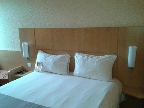 Ibis Nantes Centre Gare Sud : muy confortable la cama