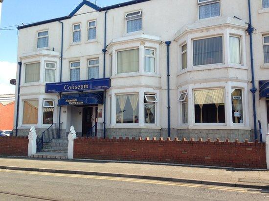Fantastic Holiday Review Of Aunties Coliseum Hotel Blackpool England Tripadvisor