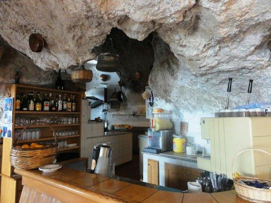 Le Grottelle: Interno