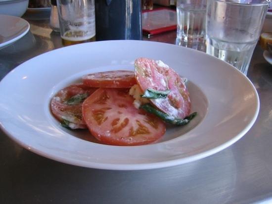 Baravin: Mozarella salad