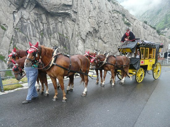 Andermatt, Switzerland: Rencontre romantique