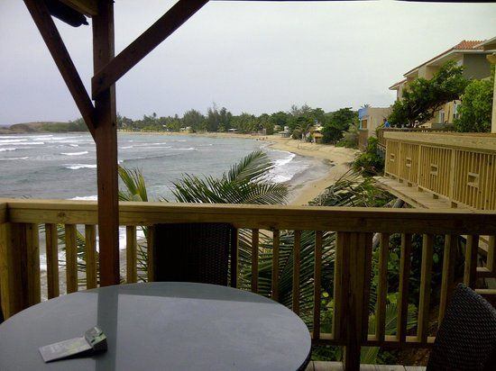 Ocean Front Restaurant: View from the bar