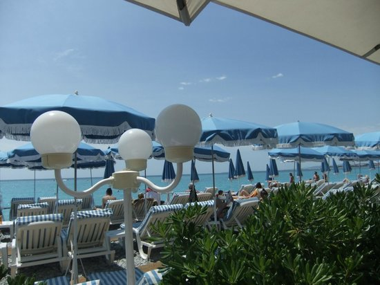 Lido PLage: The view from our table