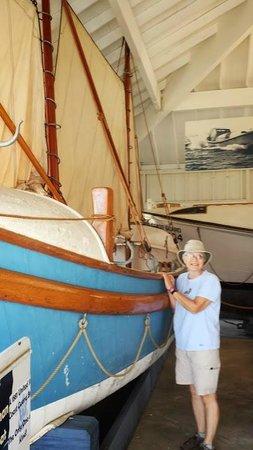 Michigan Maritime Museum: Merryman lifeboat