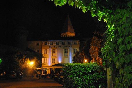Hotel de Greuze : il giardino del Greuze
