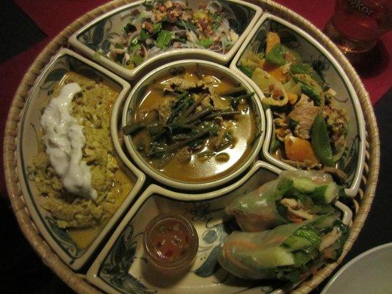 Battambang Resort: repas !!