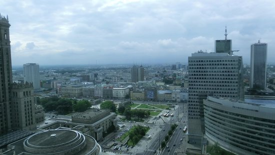 InterContinental Hotel Warsaw: Warsaw Perspective