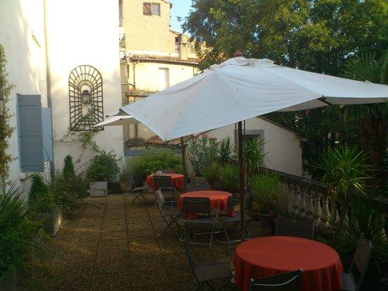 Best Western Hotel Le Guilhem : breakfast site