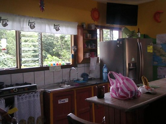 Hotel Sloth Backpackers Bed & Breakfast: The kitchen at Sloth!