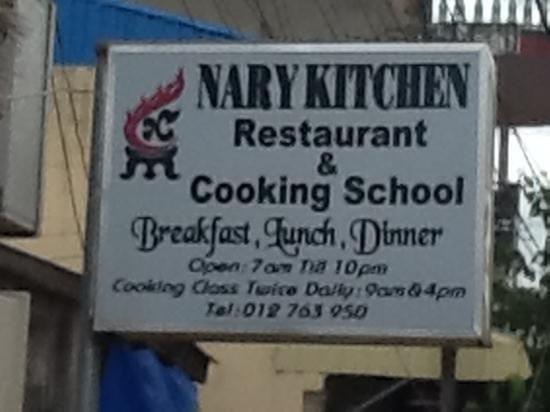 Nary Kitchen: l enseigne