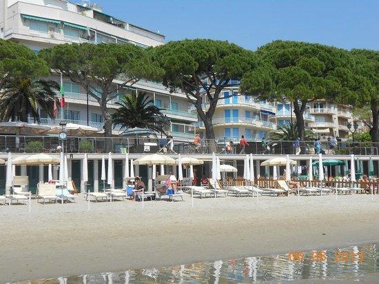 Hotel Majestic : Spiaggia Majestic