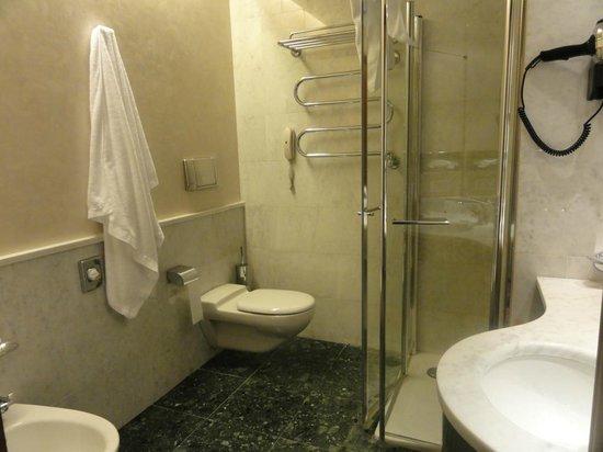 UNA Hotel Mediterraneo: Il bagno