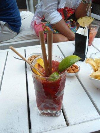 Daiquiri Lounge: fruit brulè