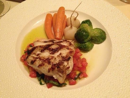 Brasserie 8 and a Half: red snapper
