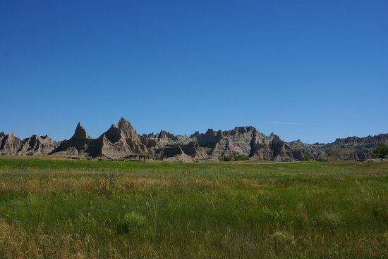 Cedar Pass Campground: View from campsite