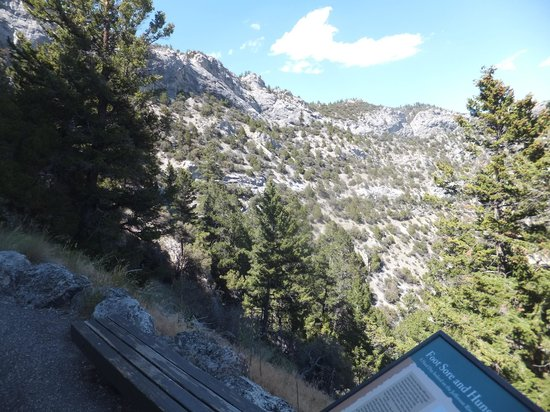 Lewis and Clark Caverns State Park: The view down of what I just climbed up