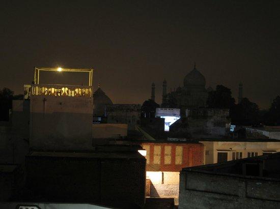 Hotel Sidhartha: vu du toit