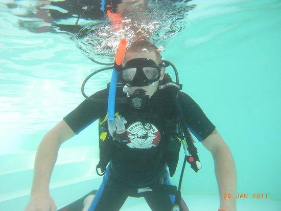 Crystal Clear Thailand: Первый вдох под водой.