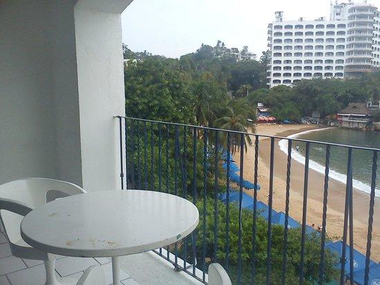 Hotel Acamar Acapulco: terraza