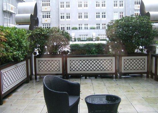 Steigenberger Wiltcher's: Terrasse